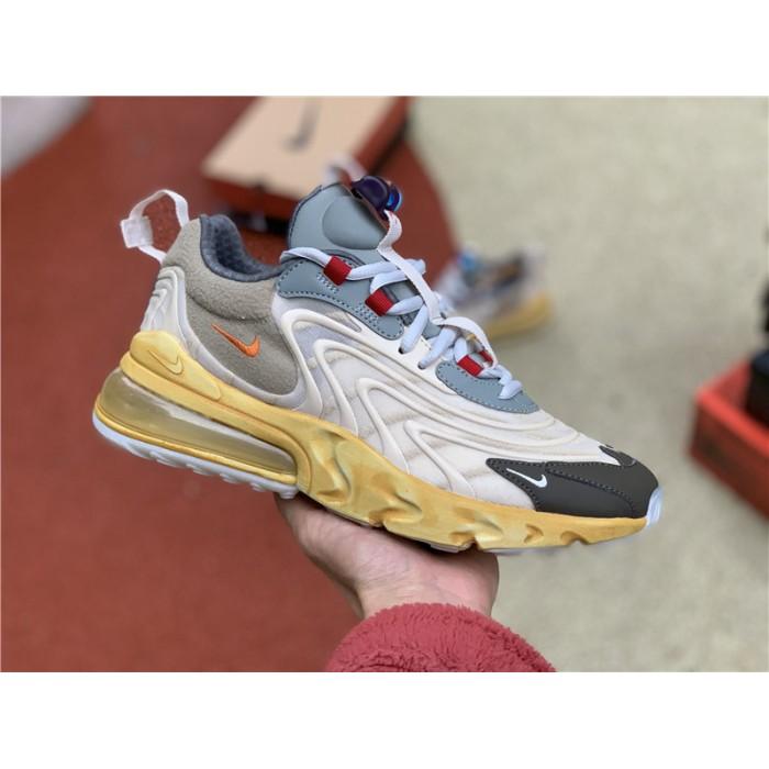Men's/Women's Travis Scott Nike Air Max 270 React Cactus Trails Shoes