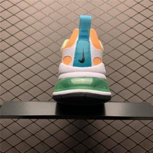 Women's Nike Air Max 270 React SE Arctic Pink Black Orange White