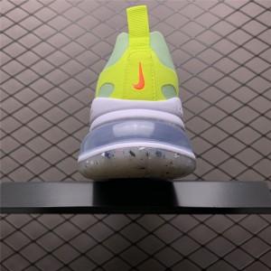 Women's Nike Air Max 270 React White Flash Crimson-Cucumber Green
