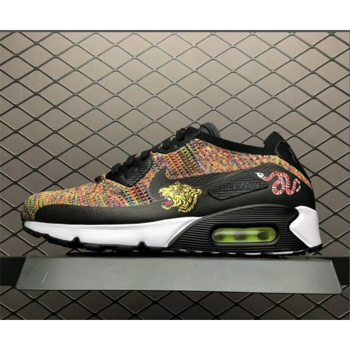 Men's Nike Air Max 90 Ultra Flyknit Multi-Color 2.0