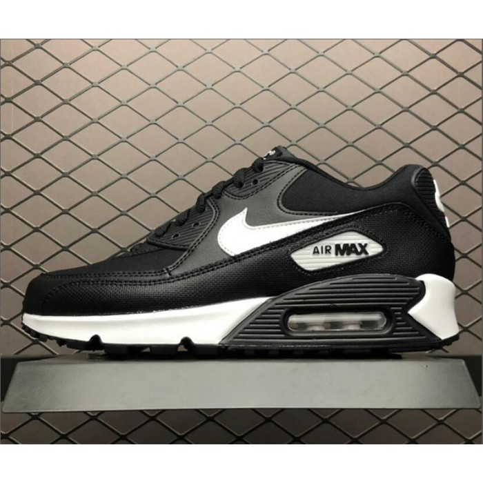 Men's/Women's Nike Air Max 90 Black White