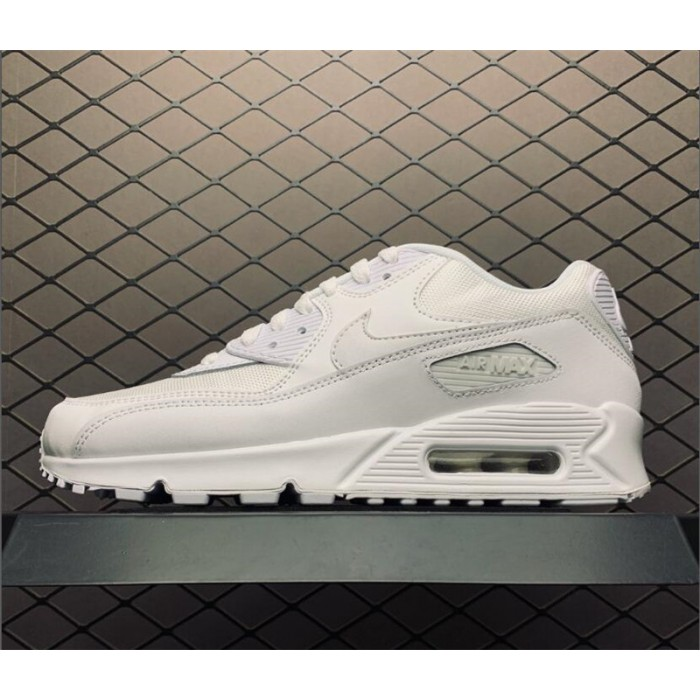 Men's/Women's Men and Nike Air Max 90 Essential Triple White