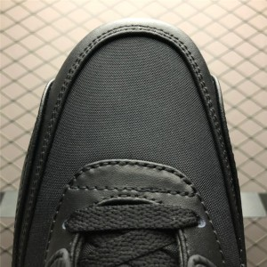 Men's Nike Air Max 90 Shoes Premium Black Gold