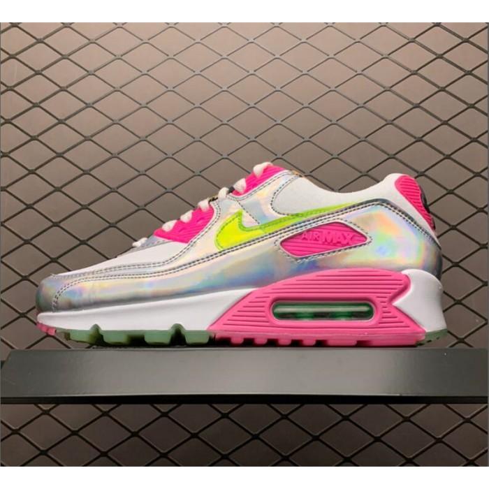 Women's Nike Air Max 90 LX Daisy Leopard Iridescen