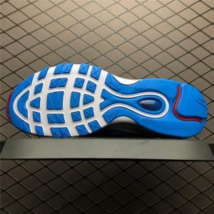 Men's/Women's Nike Air Max 97 Premium Blue Hero 312834-401