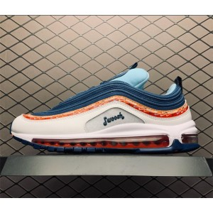 Men's/Women's Nike Air Max 97 Swoosh Chain Sale CQ4818-400
