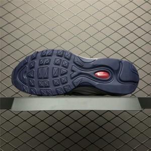 Men's/Women's Nike Air Max 97 White Blackened Blue-Red Crush