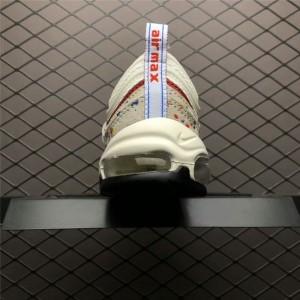 Men's/Women's Nike Air Max 97s Paint Splatter 312834-102 On Sale