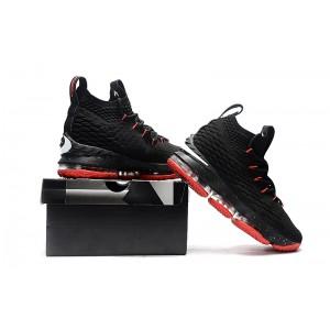 Men's Nike LeBron 15 Black Red