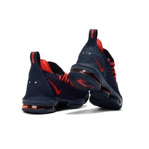 Men's New Release Nike LeBron 16 Obsidian Red