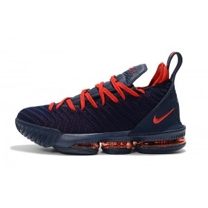 Men's New Release Nike LeBron 16 Obsidian Red
