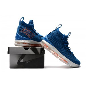 Men's Nike LeBron 15 HWC Hardwood Classics Photo Blue