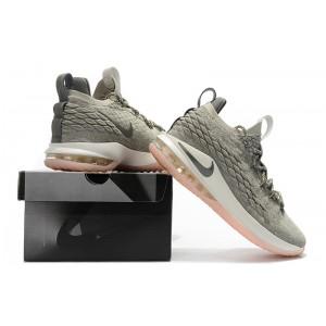 Men's Nike LeBron 15 Low Light Bone Dark Stucco-Sail