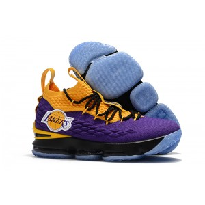 Men's Nike LeBron James 15 High Lakers Basketball