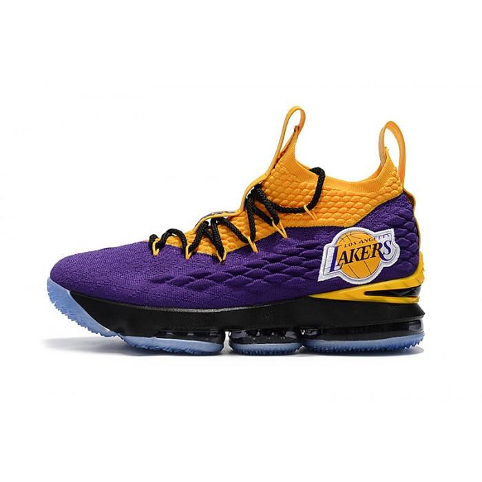 Men's Nike LeBron James 15 High Lakers Basketball