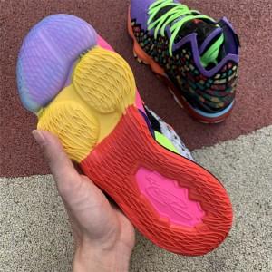 Men's Nike LeBron 17 XVII LMTD EP Multi-Color