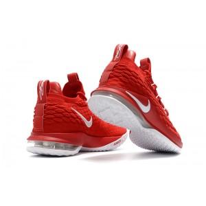Men's Nike LeBron 15 Low University Red White