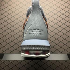 Men's Nike LeBron 16 EP 20 20 Multicolor Metallic Silver-Cool Grey
