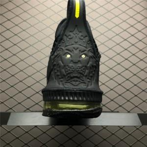 Men's Nike LeBron 16 Black Green AO2595-700