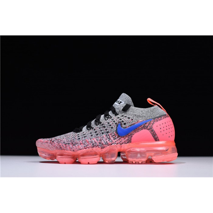 Women's Nike Air VaporMax 2.0 Grey Ultramarine-Hot Punch