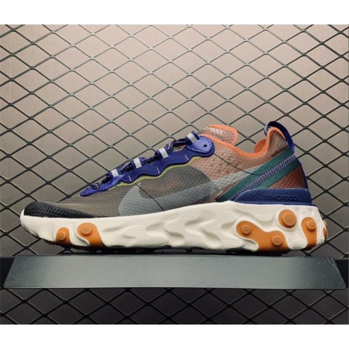 Men's/Women's Nike React Element 87 Dusty Peach Atmosphere Grey
